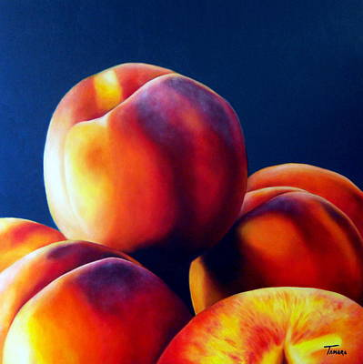 Milena Painting - Peaches by Ana Tamara