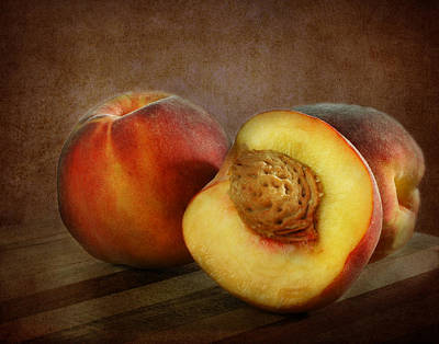Photograph - Peaches by David and Carol Kelly
