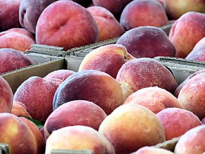 Photograph - Peaches by Janice Drew