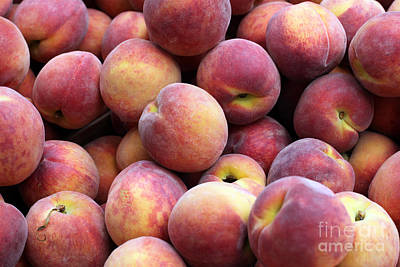 Peachy Art Print by Denise Pohl