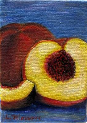 Painting - Peachy Keen by Laurie Morgan