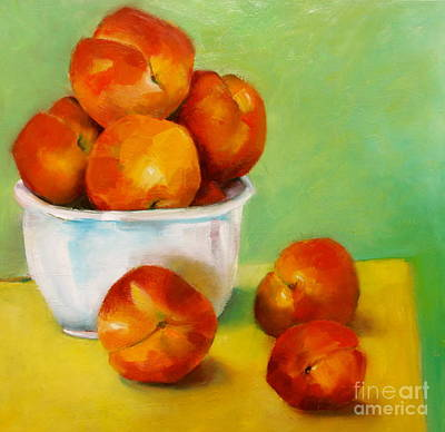 Painting - Peachy Keen by Michelle Abrams