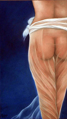 Peachy Art Print by Neil Kinsey Fagan