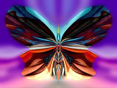 Blue Healer Digital Art - Peachy Rumpleglow by Raymel Garcia