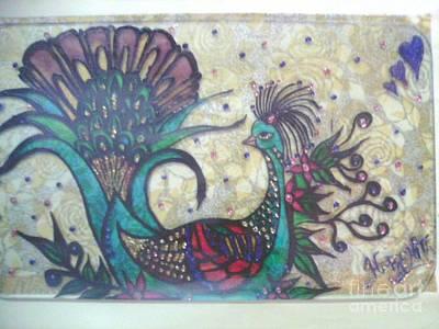 Peacock Goes Classy.. Art Print by Harshita Chawla