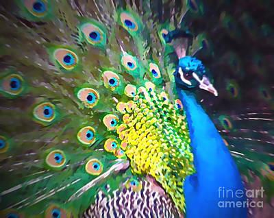Most Popular Painting - Peacock by Tatjana Popovska
