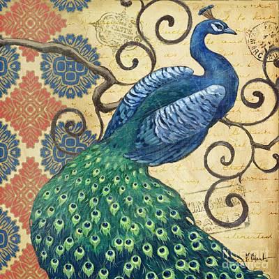 Painting - Peacock's Splendor I by Paul Brent