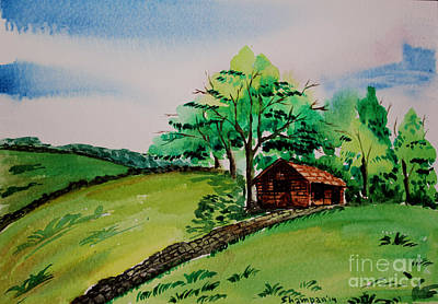 Peak District-1 Art Print by Shakhenabat Kasana