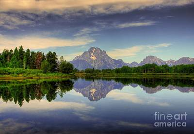 Photograph - Peak Reflections 6 by Mel Steinhauer