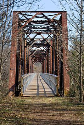 Photograph - Peak South Carolina Walking Trestle 1 by Joseph C Hinson Photography