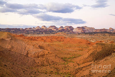Photograph - Peaks And Butte Capitol Reef  by Yva Momatiuk John Eastcott