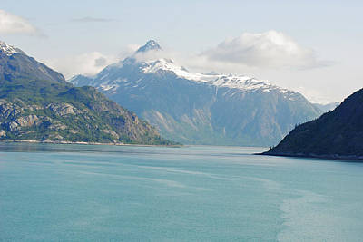 Photograph - Peaks In Glacier Bay by Robert  Moss