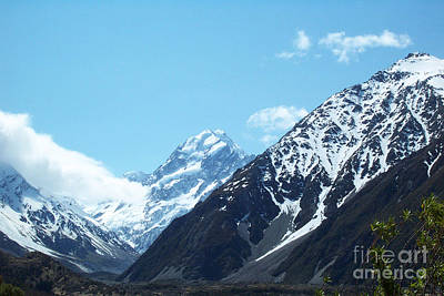 Photograph - Peaks Of New Zealand by John Potts