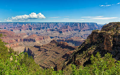 Photograph - Peaks Within The Grand Canyon by John M Bailey