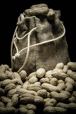 Peanuts In A Gunny Sack II Art Print by Marco Oliveira
