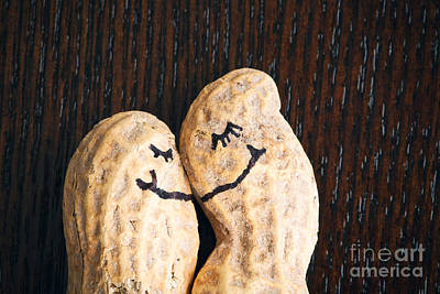 Photograph - Peanuts In Love by Sharon Dominick