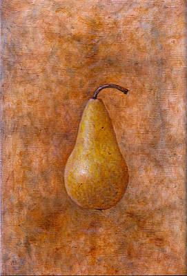 Naturaleza Muerta Painting - Pear 1 by Raul Vargas