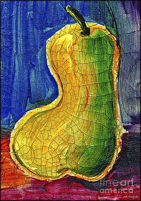 Painting - Pear 2 by Walt Foegelle