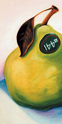 Painting - Pear 441 - Kim's Crop by Laura Dozor