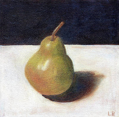 Painting - Pear I by Laurel Best