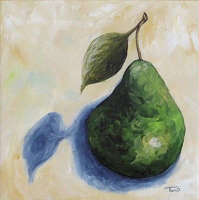 Pear In The Spotlight Original