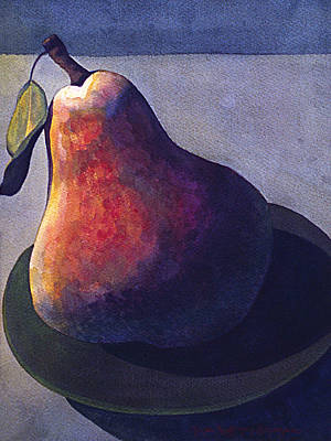 Painting - Pear by Lynda Hoffman-Snodgrass