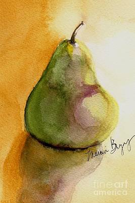 Pear Art Print by Marcia Breznay