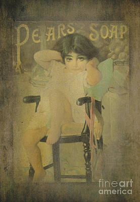 Photograph - Pear Soap Girl by Betty LaRue