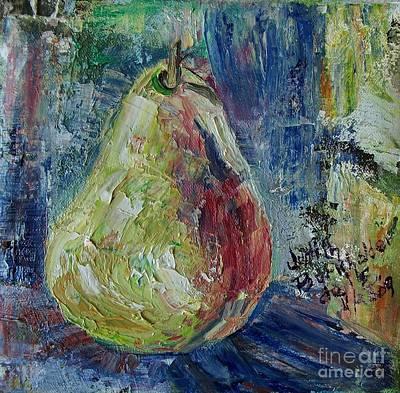 Pear - Sold Art Print by Judith Espinoza