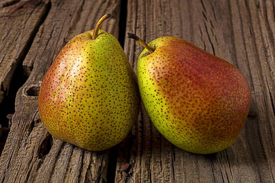 Wall Art - Photograph - Pear Still Life by Garry Gay