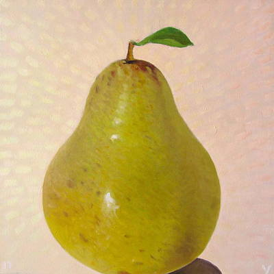 Pears Painting - Pear Summer - 2 Of 4 In A Series by Don Young
