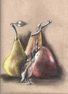 Pear2 Art Print