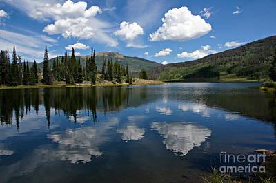 Colorado Photograph - Pearl Lake Blue Water by Michael Kirsh