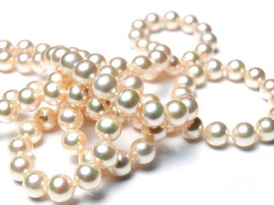Pearly Pearls Art Print by Sinisa Botas