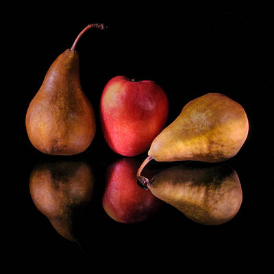 Photograph - Pears And Apple by Fred LeBlanc