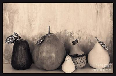 Photograph - Pears And Pears by Marsha Heiken