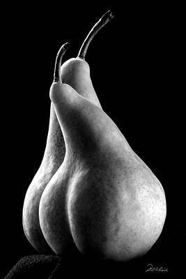 Pears Can Be Sexy Too Print by Frederic A Reinecke