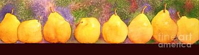 Pears Art Print by Gwen Nichols
