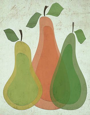 Pears Painting - Pears I by Shanni Welsh