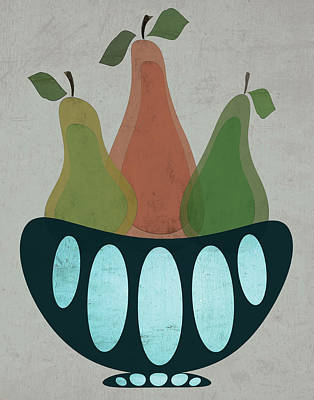 Pears Painting - Pears II by Shanni Welsh