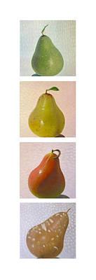 Pears In Season 2 Art Print
