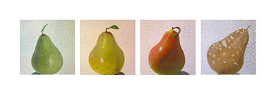 Pears In Season Art Print by Don Young