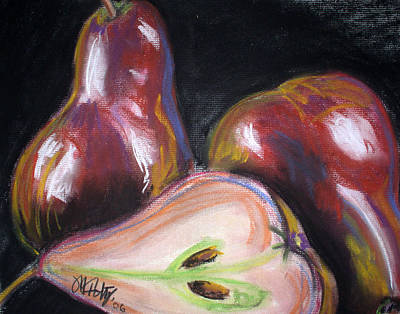 Painting - Pears by Michael Foltz
