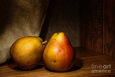 Pears Art Print by Olivier Le Queinec
