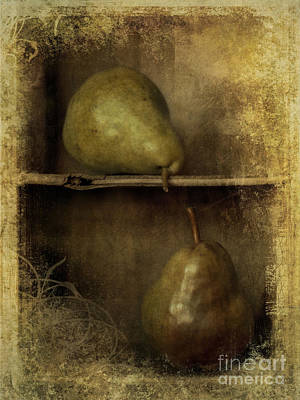Country Cottage Photograph - Pears by Priska Wettstein