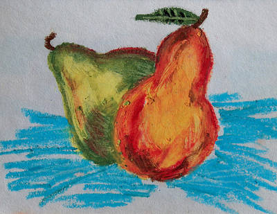Pastel - Pears by Racquel Morgan