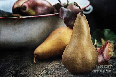 Pears Art Print by Stephanie Frey