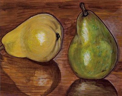 Painting - Pears by Vera Lysenko