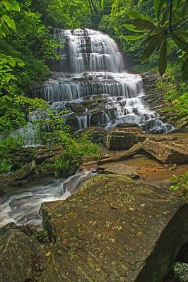 Photograph - Pearson Falls  Saluda Nc by Willie Harper
