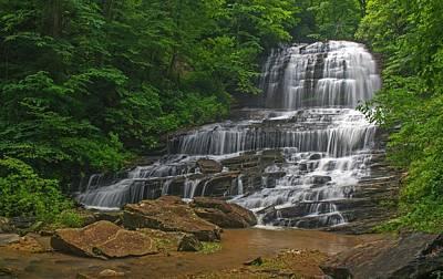 Photograph - Pearson Falls  Saluda North Carolina by Willie Harper